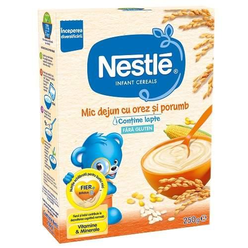 Mic dejun cu cereale fără gluten, +4 luni, 250 g, Nestle