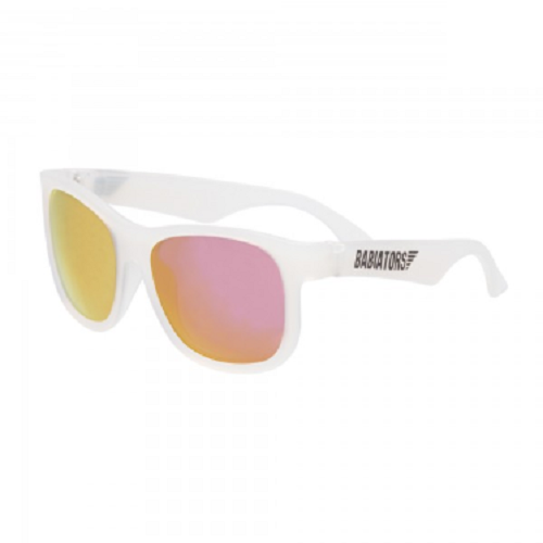 Ochelari de soare pentru copii Premium Pink Ice Classic, 3-5 ani, Babiators