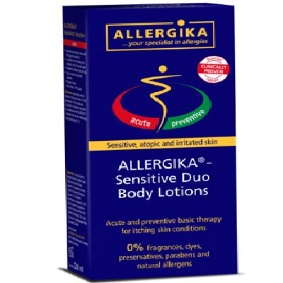 Ofertă pachet loțiune de corp și loțiune emolientă Sensitive Duo, +0luni, Allergika