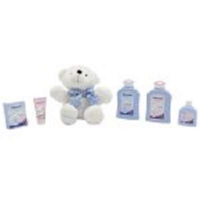 Pachet îngrijire Kids bleu + ursuleț , Sanosan