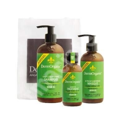 Pachet îngrijire tratament păr profesional, DermOrganic