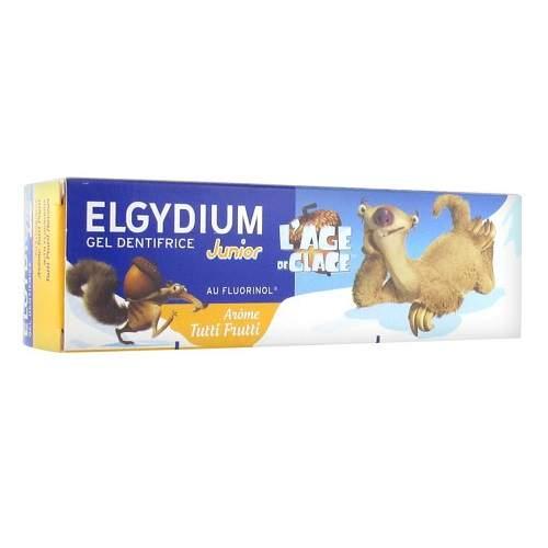 Pastă de dinți gel, Tutti Frutti, Junior 7-12 ani, 50 ml, Elgydium Clinic
