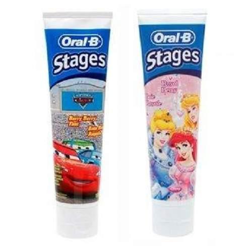 Pasta de dinti pentru copii, 75 ml, Oral-B