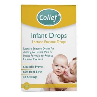 Picături cu enzima lactază Colief, 7 ml, Crosscare Limited Ireland