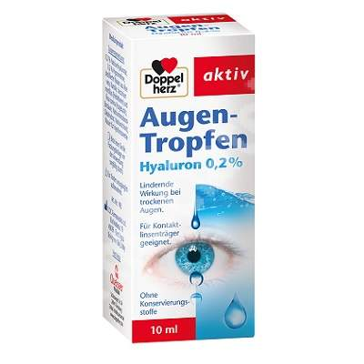 Picaturi pentru ochi Augen Tropfen Doppelherz Aktiv, 10 ml, Queisser Pharma