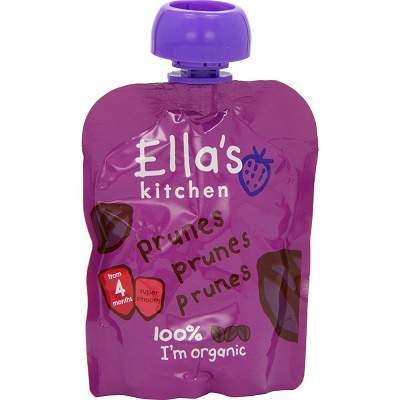 Piure de prune naturale Bio organic, 70 g, Ella s Kitchen