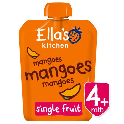 Piure Pouch Bio din mango, 70 g, Ella s Kitchen
