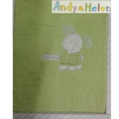 Prosop de baie, Cățel, Verde, 75x100 cm, R31, Andy&Helen