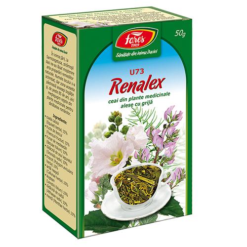 Renalex ceai, U73, 50g, Fares