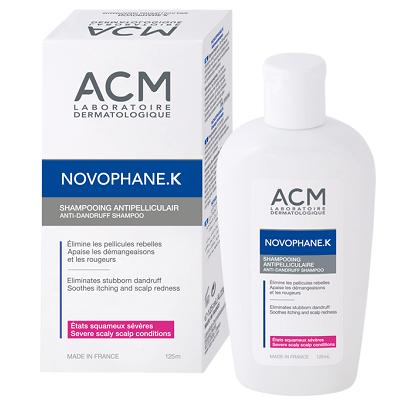 Sampon antimatreata cronica Novophane K, 125 ml, ACM