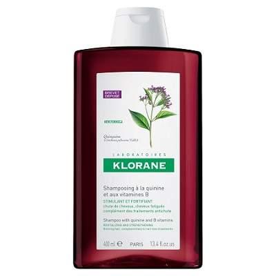 Șampon cu chinină și vitamina B6, 400 ml, Klorane