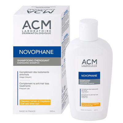 Sampon energizant pentru par fragil cu 6 vitamine Novophane Energizing, 200 ml, ACM
