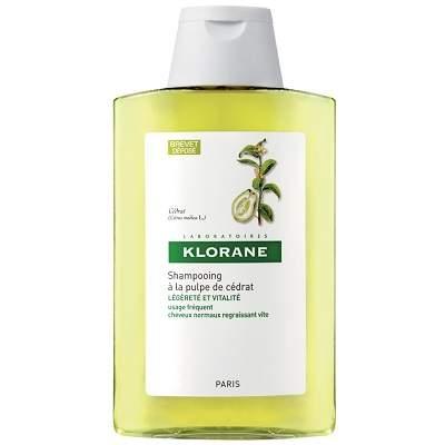 Șampon păr gras cu pulpa de citrice, 200 ml, Klorane