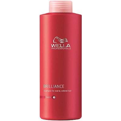 Balsam pentru păr vopsit cu structură groasă Brilliance, 1000 ml. Wella Professionals