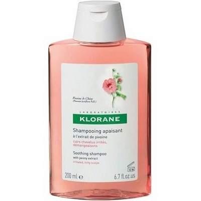 Șampon pentru scalp iritat cu bujor, 200 ml, Klorane
