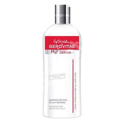 Șampon pentru scalp sensibil Gerovital H3 Derma, 200 ml, Farmec