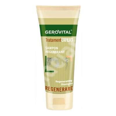 Șampon regenerant Tratament Expert, 125 ml, Gerovital