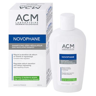 Sampon seboreglator Novophane, 200 ml, ACM