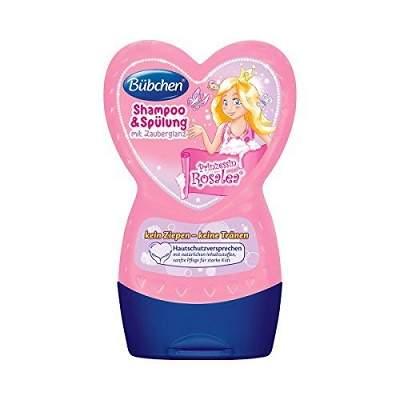 Șampon și balsam 2în1 Prințesa Roșălea, 230 ml, Bubchen