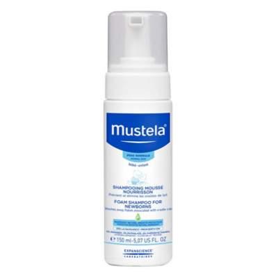 Șampon spumă pentru nou-născuți, 150 ml, Mustela