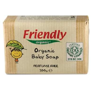 Sapun Organic Baby, 100g, Friendly Organic