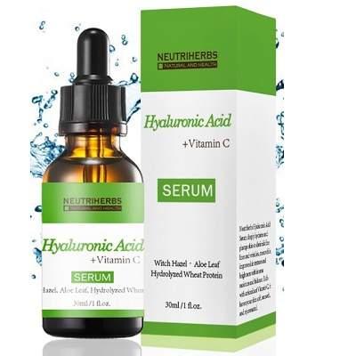 Ser cu vitamina c si acid hialuronic farmacia tei