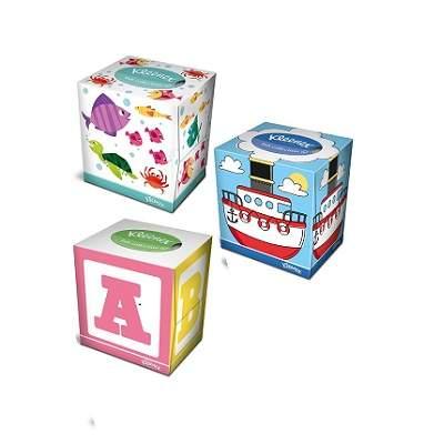 Șervețele faciale pentru copii Kids Collection, 56 bucăți, Kleenex