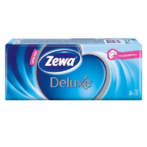 Șervețele uscate batistuțe Deluxe, 3 straturi, 10 buc, Zewa