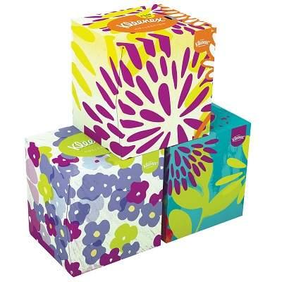 Șervețele - Kleenex Box Collection Cube, 56buc, Kleenex