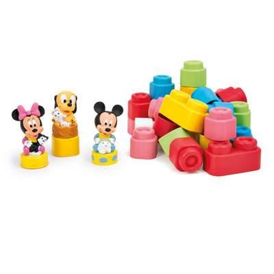 Set cuburi și figurine moi, Disney Clemmy Baby, +6 luni, CL14831, Clementoni