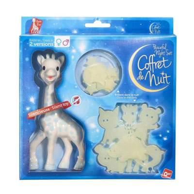 Set pentru noapte blue Girafa Sophie, +0 luni, Vulli