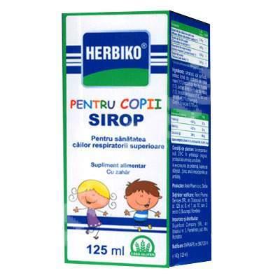 Sirop de tuse pentru copii, 125ml, Herbiko