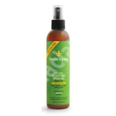 Spray modelant flexibil profesional, 250 ml, DermOrganic