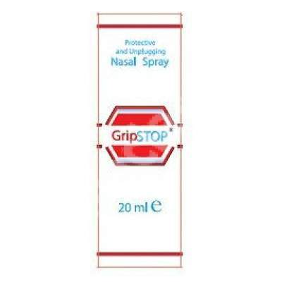 Spray nazal decongestionant și protectiv GripStop, 20 ml, Plantamed