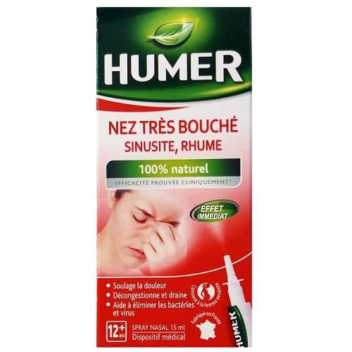 Spray nazal sinuzita, 15 ml, Humer
