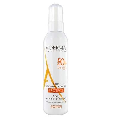 Spray pentru piele sensibila Protect SPF50+, 200ml, A-Derma