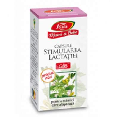 Stimularea lactației, 60 cps vegetale, Fares