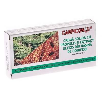 Supozitoare - Carpricon S, 10 buc, Elzin Plant