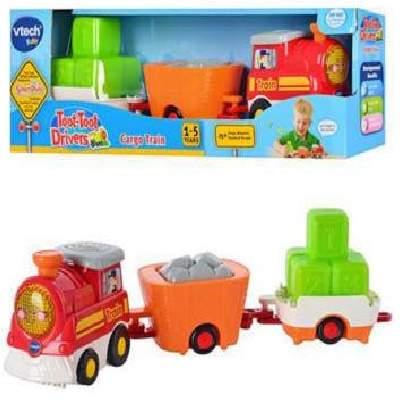 Tren Cargo Toot Toot Drivers, +1an, VT152203, Vtech
