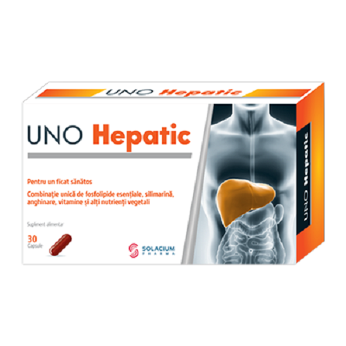 Uno Hepatic, 30 cps, Solacium Pharma