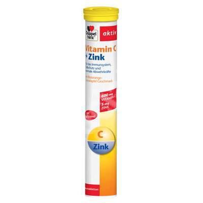 Vitamina C si Zinc, 15tab eff, Doppelherz, Queisser Pharma