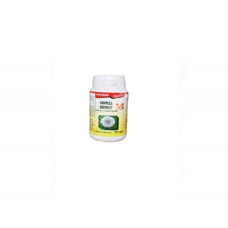Complex digestiv, 70 capsule, Favisan
