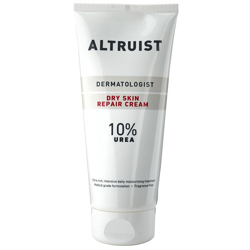 Crema dermatologica reparatoare pentru piele uscata cu 10% uree, 200 ml, Altruist