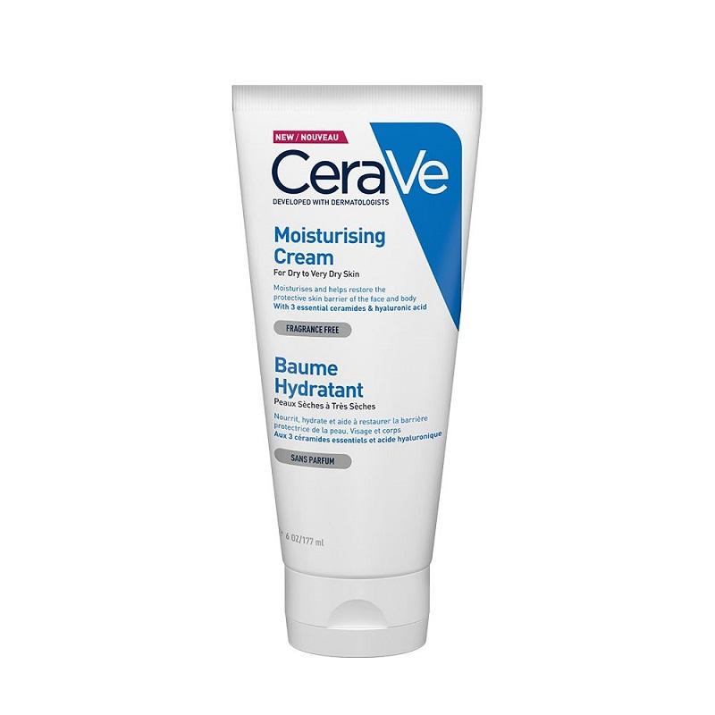Crema hidratanta de fata si corp pentru piele uscata si foarte uscata, 177 ml, CeraVe