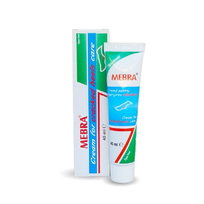 Cremă pentru ingrijirea călcâielor, 40 ml, Mebra
