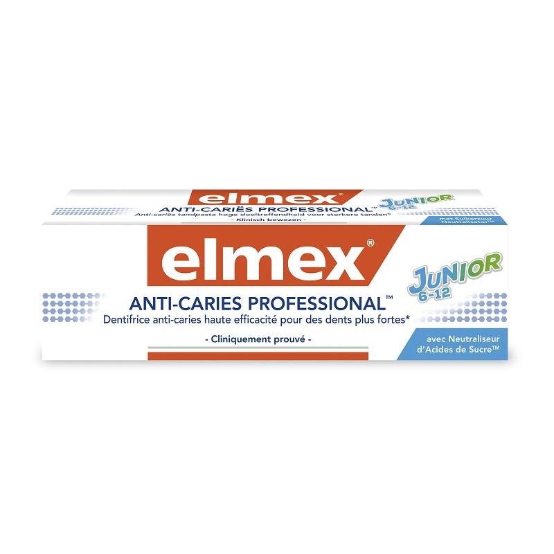 Pastă de dinți Anti Caries Professional Junior 6-12 ani, 75 ml, 31203, Elmex