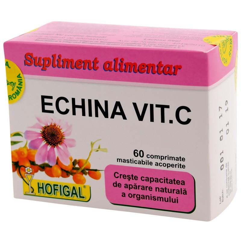 Echina Vitamina C, 60 capsule, Hofigal