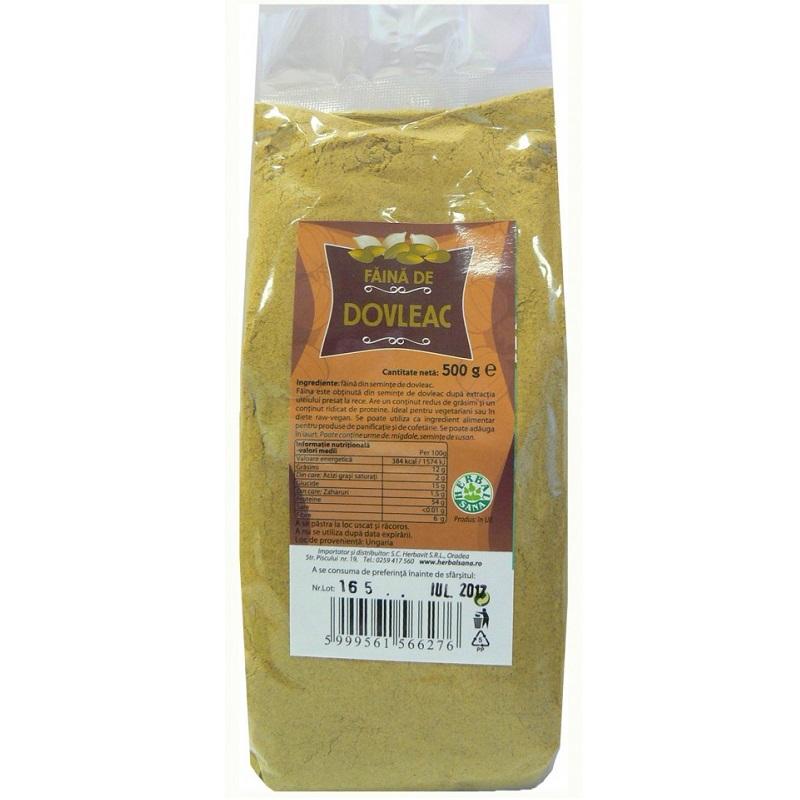 Făină de dovleac, 500 g, Herbal Sana