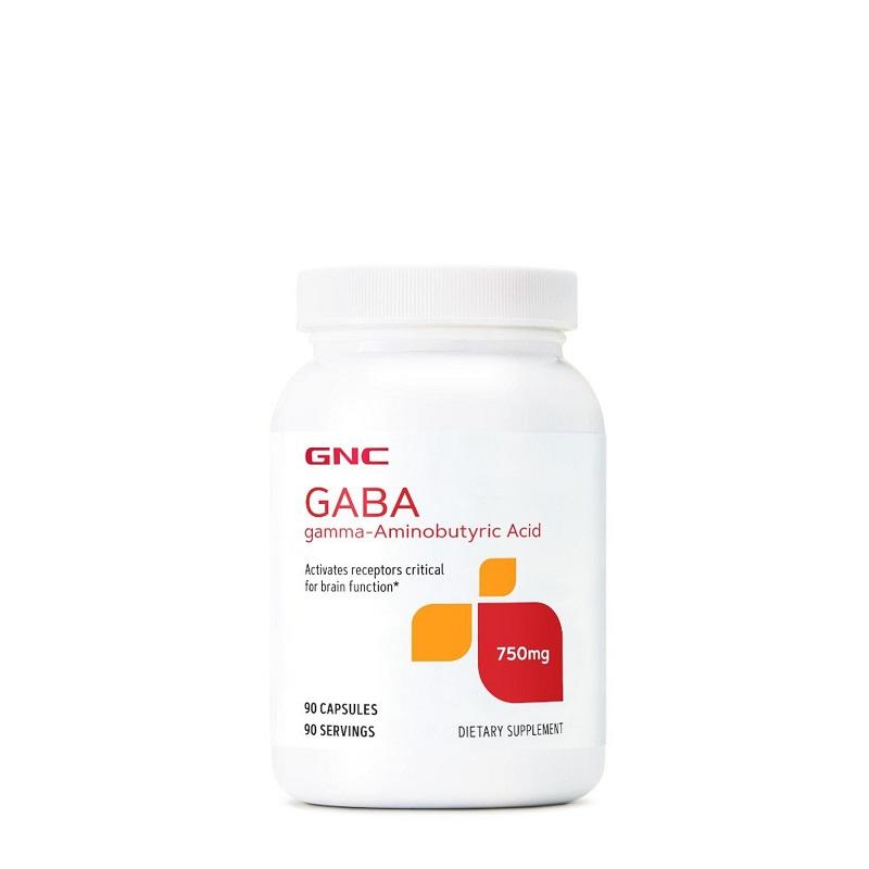Gaba 750 mg, 90 capsule, 267512, GNC