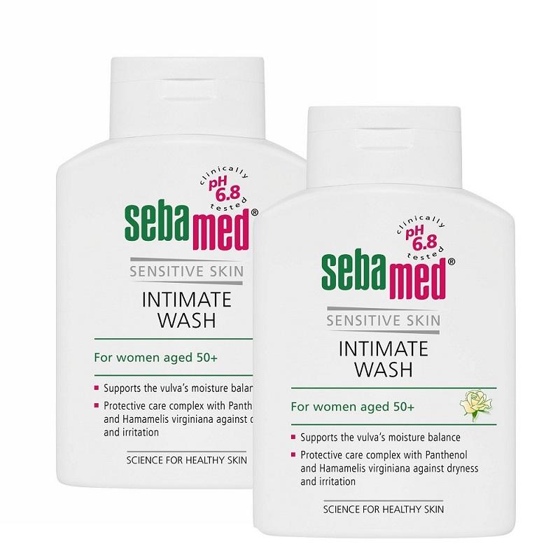 Gel dermatologic pentru igiena intimă feminină, 50+ ani, 200 ml (1+1), Sebamed